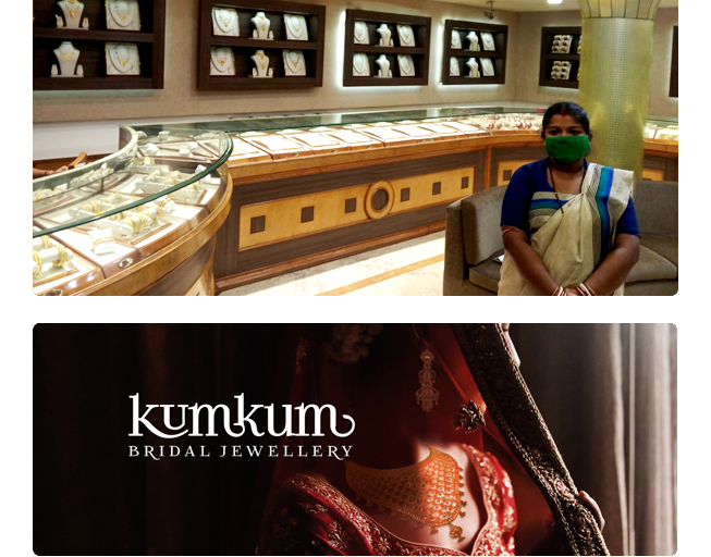 Pine Labs Merchants Success Stories : Khimji Jewellers - Kumkum Bridal